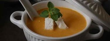 Sopa de pollo al curry, receta para entrar en calor