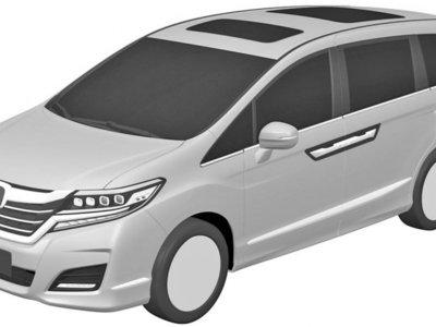La nueva generación de Honda Odyssey se verá más o menos así