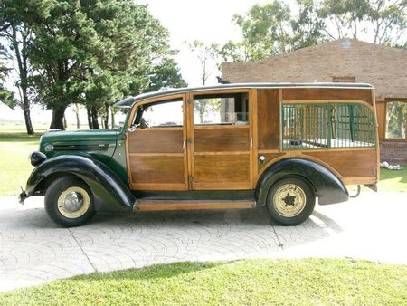 1938 Ford One-Tonner Hunting Truck