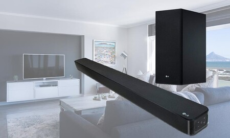 Mejorar el sonido de tu tele sale más barato esta semana en Amazon: LG SL6YF por 259 euros
