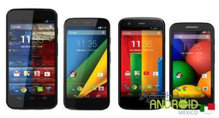 Moto X, Moto G, Moto E y Moto G 4G podrían actualizarse directamente a 5.1
