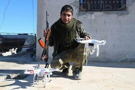 ISIS usaba drones de DJI para lanzar granadas, pero una actualización software les impide volar en Siria e Iraq