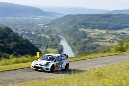 Rallye de Alemania 2014: Latvala lidera el shakedown, Neuville vuelca
