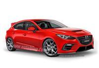 Así podría ser el nuevo Mazdaspeed3