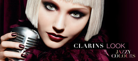 Clarins nos enseña su look Jazzy Colours