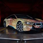 Con este colorido BMW i8, la marca rinde homenaje a la cultura italiana