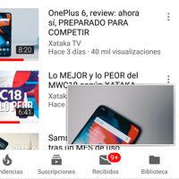 YouTube para Android estrena nuevo minireproductor, adiós a la ventana flotante