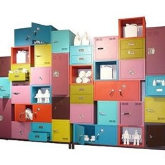 muebles-de-almacenaje-de-colores
