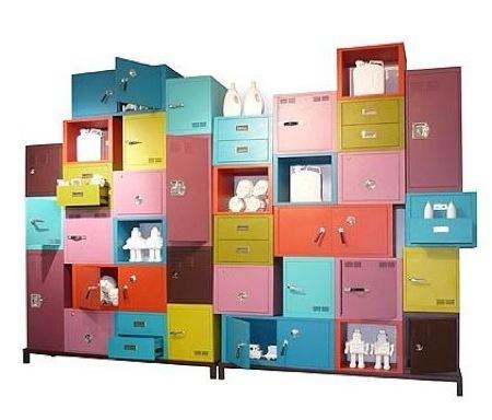 Foto de Muebles de almacenaje de colores (1/5)