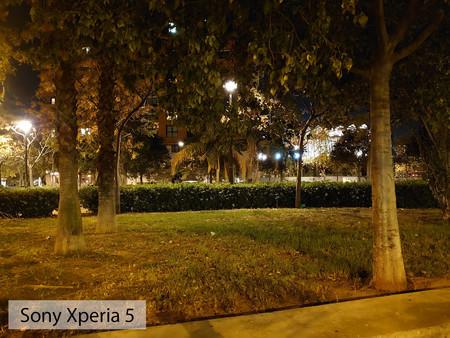 Sony Xperia 5 Auto Noche 01