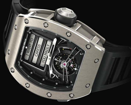 Reloj Richard Mille RM69 Erotic Tourbillon