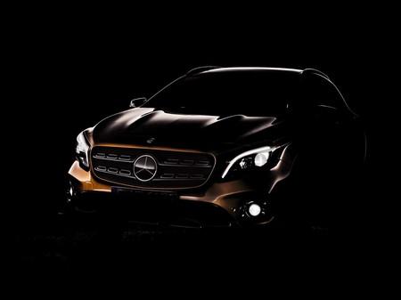 El Mercedes-Benz GLA estará en el Auto Show de Detroit con un facelift ligerísimo