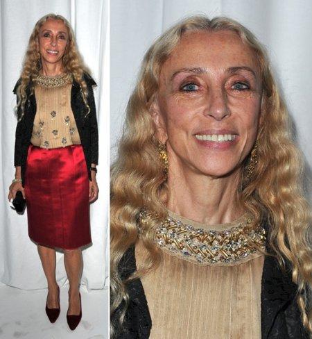 Franca Sozzani cuello
