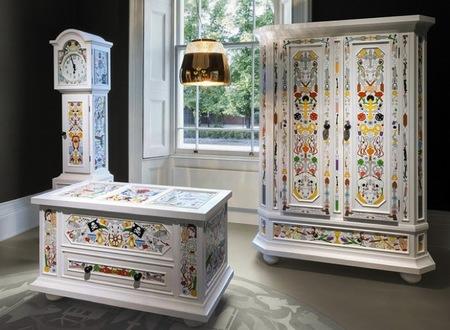 Estilo vintage y arte moderno en los muebles de Moooi