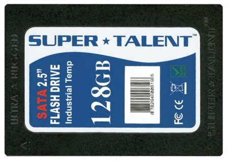 Disco SSD de 128 GB de Super Talent, con certificación para Vista