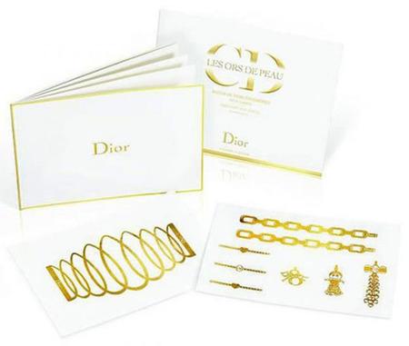 Dior Golden Tatoo, para quienes no temen borrar una creación firmada por Dior