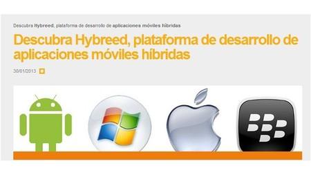 Hybreed, aplicaciones móviles para Smart TV