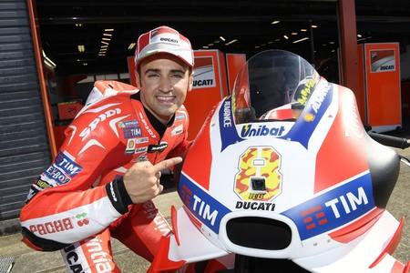 Hector Barbera Ducati Iannone 2016