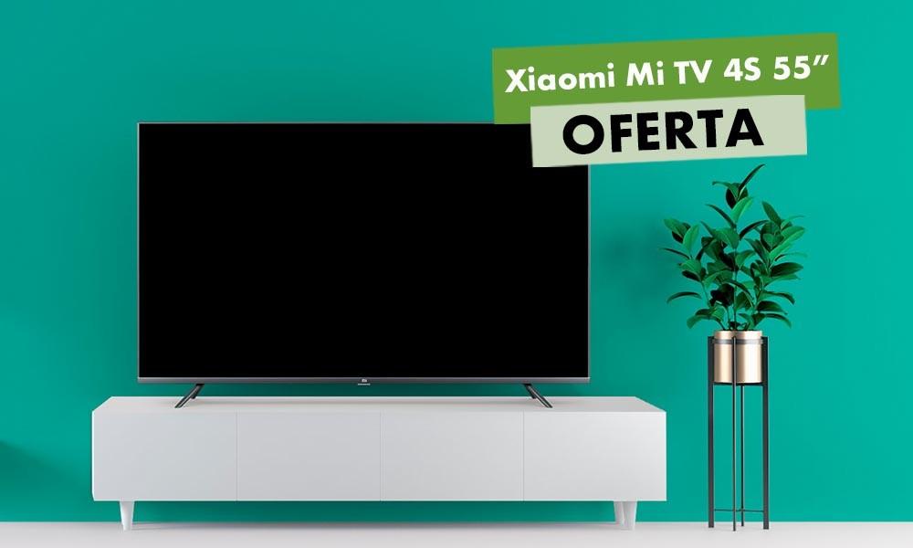Más barata que nunca: la Xiaomi Mi TV 4S de 55 pulgadas, te sale por unos ajustados 377 euros en el Día sin IVA de MediaMarkt