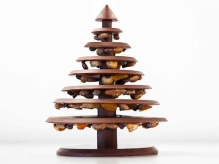 ¡Árbol de Navidad de Chocolate!, una creación de Alain Ducasse