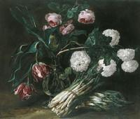 De alcachofas, espárragos y flores. Ideas decorativas