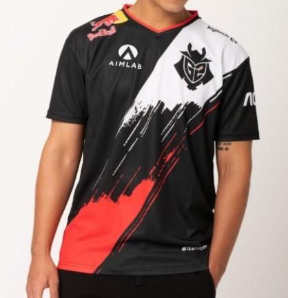 Camiseta G2 Pro Player 2020