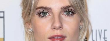 Analizamos el estilo beauty de Lucy Boynton, la actriz de la que todos hablan