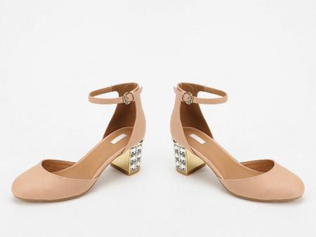 Clon Miu Miu Primavera Verano 2013 zapatos rosa palo Mary Jane Urban Outfitters