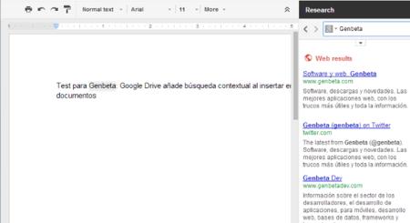 Búsqueda contextual avanzada en Google Drive