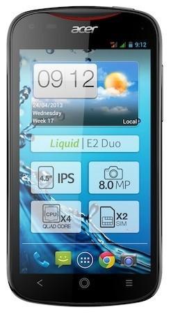 Acer Liquid E2, cuatro núcleos a precio contenido