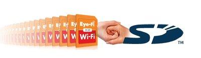 Llega un nuevo estándar de tarjetas SD con conectividad Wi-Fi integrada