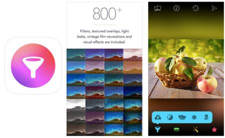 Filters for iPhone, los adictos a los filtros tienen nuevo acompañante