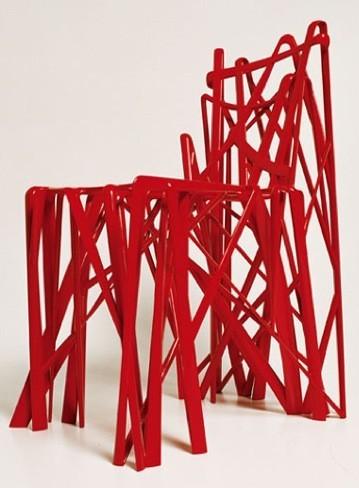 La primera silla de impresión 3D se podrá ver en el Museo Stedelijk de Ámsterdam