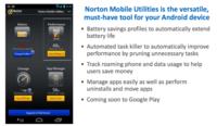 Mobile Utilities 2.0 y Hotspot Privacy, dos nuevas aplicaciones de Norton para el móvil