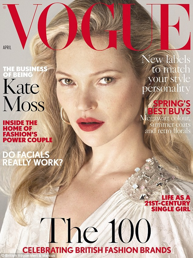 Vogue UK: Kate Moss