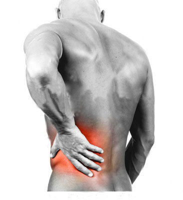 Los dolores con la espalda y el vientre