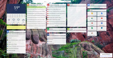 Start, la extensión para Chrome que quiere convertir cada nueva pestaña en un hub de información