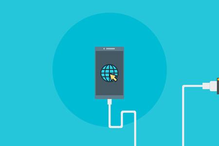 Cómo compartir Internet de un móvil Android a un PC con un cable USB