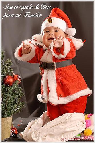 La foto de tu bebé: Feliz Navidad