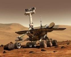 El robot Spirit y los volcanes marcianos