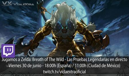 Streaming de Zelda: Breath of the Wild - Las Pruebas Legendarias a las 18:00h (las 11:00h en Ciudad de México) [finalizado]
