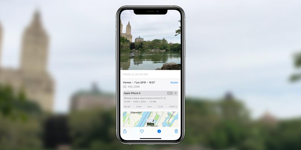 Cómo ajustar la fecha y hora y la ubicación de una foto o vídeo en Fotos de iOS 15