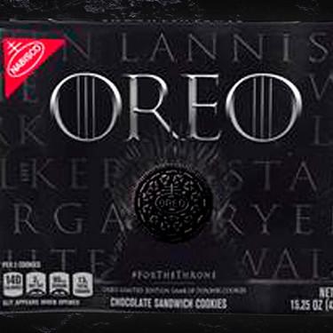 Juego de Tronos: la próxima edición especial de las galletas Óreo