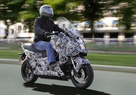 Primer vistazo al scooter eléctrico de BMW