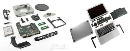 iFixit desmonta los nuevos MacBook Air y Mac Mini