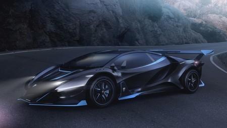 Alieno Arcanum, es eléctrico, se parece a un Lamborghini y promete una descomunal potencia de 5,000 hp
