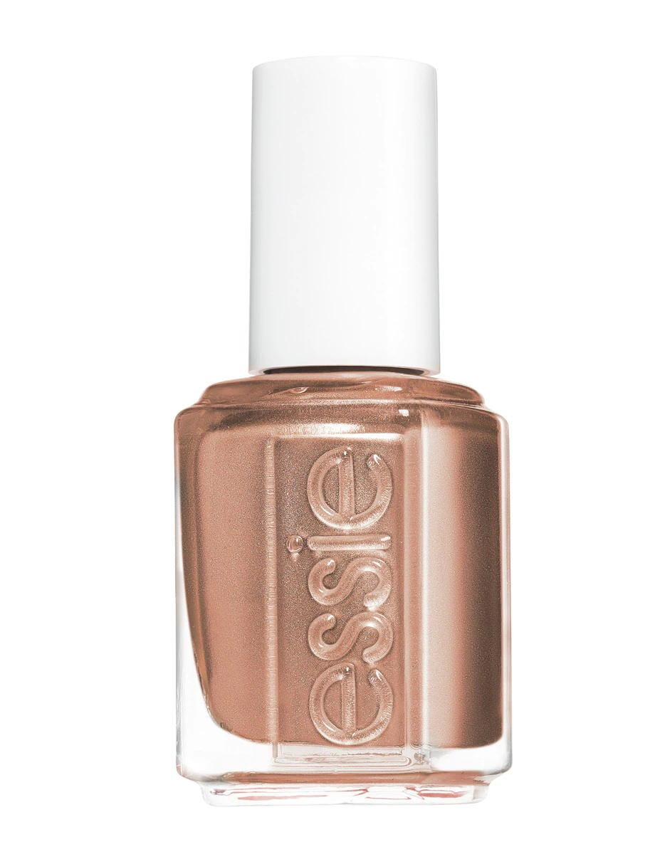 Esmalte de uñas dorado de Essie
