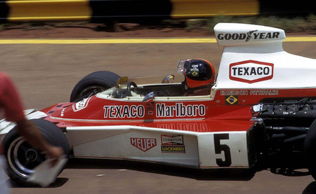 Emerson Fittipaldi McLaren-Ford 1974