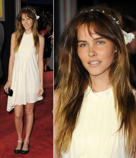 Isabel Lucas look
