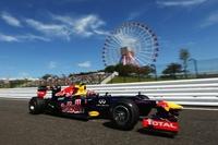 Mark Webber marca el mejor tiempo en los libres del Gran Premio de Japón